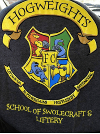 9gag, Dank, and Funny: GAINS  SCHOOL oF SWOLECRAFT&  LIFTERY The best gym gear you've seen today.  https://9gag.com/gag/a9pj2Wj/sc/funny?ref=fbsc