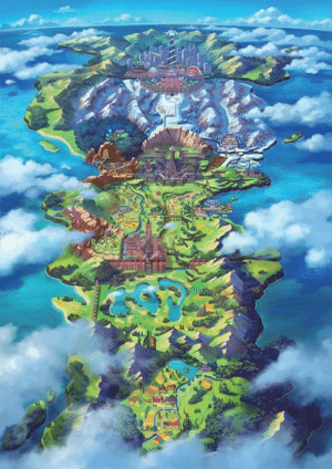 Galar has to be the best name for a region since Ferrum tbh. Love how it looks both here and in the actual game. I am so ready for this new adventure, what about you?: Galar has to be the best name for a region since Ferrum tbh. Love how it looks both here and in the actual game. I am so ready for this new adventure, what about you?