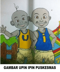 Indonesian (Language), Upine, and Gambar: GAMBAR UPIN IPIN PUSKESMAS