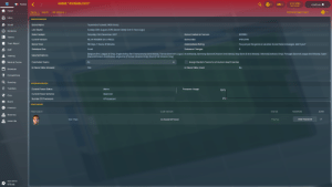 """48 days played. Steam review """"this game sucks."""" (FM2018): GAME: """"AUXERELOCO""""  4 Oct 2043  FM  France  Continue  Sun 20:30  Home  Game  Search  Hall of Fame v  Add New Head Coach  Inbox  GAME INFORMATION  """"auxereloco"""" (saved 2406 times)  Squad  Game Name  Last Saved  Sunday 30th August 2043 (Game Date)( Over 3 Hours Ago)  Dynamics  Saturday 23rd December 2017  Date Created  Game Created on Version  1051982  Tactics  4/10/2043  Current Version  18.3.4 1093856 (m.e v1822)  Game Date  Team Report  Addictedness Rating  Game Time  48 Days, 7 Hours, 9 Minutes  You just put the game on vacation to see these messages, didn't you?  Database Changes  Database Size  Small  Staff  Belgium (Pro League A Only), England (Sky Bet Championship And Above), France (Domino's Ligue 2 And Above), Germany (Second Division And Above), Italy (Serie B And bove), Holland (Eredivisie Only), Portugal (Second League And Above), Spain  (Second Division And Above, Argentina (Premier Division Only), Brazil (First Division Only)  Selected Nations  Training  Coachable Teams  All  Assign Random Teams to all Human Head Coaches  Medical Centre  In-Game Editor Allowed  Yes  In-Game Editor Used  No  Schedule  Competitions  Q Scouting  SYSTEM INFORMATION  Transfers  Processor Usage  Current Power Status  Mains  100%  Current Power Scheme  Balanced  Club  0%  Number Of Processors  4 Processors  Board  НЕAD COACHES  Finances  CLUB/NATION  HEAD COACH  STATUS  PASSWORD  ADMIN  Reserves  Add Password  Dim Theo  AJ Auxerre/France  Playing  Under 19s  NEXT MATCH  STE (H) 48 days played. Steam review """"this game sucks."""" (FM2018)"""