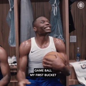 Patrick Beverley gives the game ball to @Mfiondu in honor of his first NBA bucket!    https://t.co/B4hlskypsT: GAME BALL  MY FIRST BUCKET Patrick Beverley gives the game ball to @Mfiondu in honor of his first NBA bucket!    https://t.co/B4hlskypsT