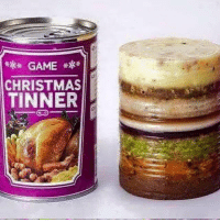 Dank, 🤖, and  Dinner: GAME  CHRISTMAS  TINNER Most student's Christmas dinner this year...