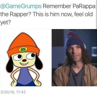 Game Grumps  Remember PaRappa  the Rapper? This is him now, feel old  yet?  3/30/16, 17:42 Moana was so good omg