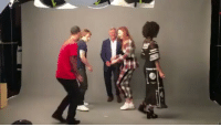 Game of Thrones cast dancing at a photoshoot for EW at SDCC . . . . . . . . thronesmemes gameofthrones asoiaf got hbo gameofthronesfamily gameofthronesfan gameofthronesmemes gotmemes gots7 winterishere gameofthronesseason7 gotseason7 sophieturner sansastark alfieallen theongreyjoy sansa missandei nathalieemmanuel jacobanderson greyworm comiccon sandiego gotsdcc: Game of Thrones cast dancing at a photoshoot for EW at SDCC . . . . . . . . thronesmemes gameofthrones asoiaf got hbo gameofthronesfamily gameofthronesfan gameofthronesmemes gotmemes gots7 winterishere gameofthronesseason7 gotseason7 sophieturner sansastark alfieallen theongreyjoy sansa missandei nathalieemmanuel jacobanderson greyworm comiccon sandiego gotsdcc