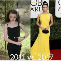 Game of Thrones, Game, and Thrones: game of thrones fanpage  2011 vs. 20 This glow up 😍 https://t.co/8ZFBdhjieQ