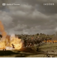 Watch this video on the epic battle in episode 4 (Part 2). theloottrainattack: Game of Thrones  INSIDER Watch this video on the epic battle in episode 4 (Part 2). theloottrainattack