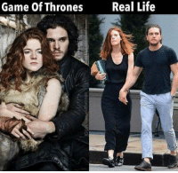 Memes, 🤖, and Games of Thrones: Game of Thrones  Real Life ❤