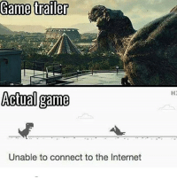 Memes, 🤖, and Deaths: Game trailer  Actual game  Unable to connect to the Internet  HI DMs are messed * 😏Follow if you're new😏 * 👇Tag some homies👇 * ❤Leave a like for Dank Memes❤ * Second meme acc: @cptmemes * Don't mind these 👇👇 Memes DankMemes Videos DankVideos RelatableMemes RelatableVideos Funny FunnyMemes memesdailybestmemesdaily boii Codmemes funeral death Meme InfiniteWarfare Gaming gta5 bo2 IW mw2 Xbox Ps4 Psn Games VideoGames Comedy Treyarch sidemen sdmn