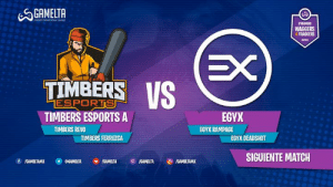 Gg, Match, and Primer: GAMELTA  eors PROFESSONAL AG  STREAMRS  WAGGERS  4 FRAGGERS  EX  TIMBERS IS  ESPORTS  TIMBERS ESPORTS A  EGYX  TIMBERS REVO  EGYX RAMPAGE  TIMBERS FERRUZCA  EGYX DEADSHOT  SIGUIENTE MATCH  f /GAMELTAMX  aGAMELTA  GAMELTA  GAMELTAMX  /GAMELTA Comenzamos con el primer match de esta GRAN FINAL de #Waggers4Fraggers. 🔴fb.gg/gameltamx  Timbers esports vs. EGYX   Revoog y Mr Ferruzca en contra de RampaageX y Deadshot