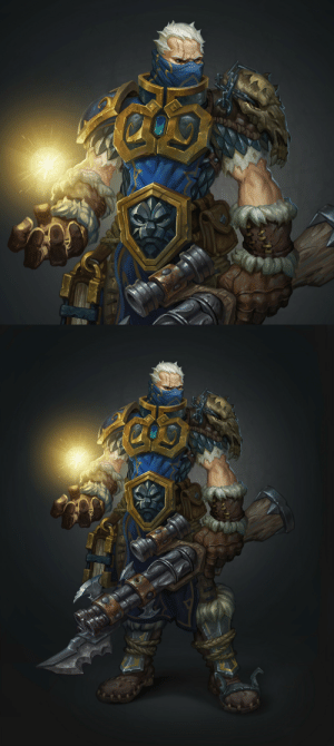 games-frontier:   Soldier 76 in the Warcraft universe   Source : games-frontier:   Soldier 76 in the Warcraft universe   Source