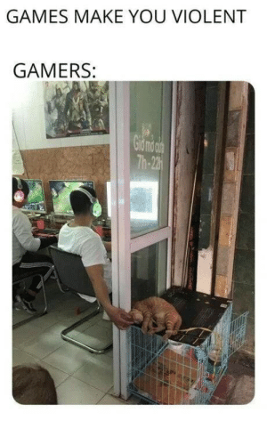 positive-memes:  If this doesn't restore faith in gamers idk what will: GAMES MAKE YOU VIOLENT  GAMERS:  Th-22 positive-memes:  If this doesn't restore faith in gamers idk what will