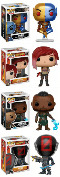 GAMES  ND221  MORROWIND  VIVEC  FIGURA MAIL  DE VINYL  209  LILITH  ENVINYLE/  VINYL FIGURE DE FIGURA  GAMES  ND220  MORROWIND  WARDEN  VINYL FIGURA  210  BORDERLANDS  GAMES  ZERO  ENVINYLEI  VINYL FIGURE DE VINIL New Morrowind, Borderlands Funko Pop figures are coming in June. Pictured are a few from a larger selection. https://t.co/wbbLrM6q8p
