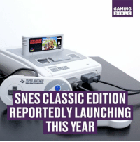 Goodbye NES Classic, Hello SNES Classic? 💰- @ODDSbible 🐶 - @PRETTY52 📸 - @LENSbible 📖 - @FACTSbible 😂 - @LADbible ⚽ - @SPORTbible 🍔 - @FOODbible 🎮 - @GAMINGbible: GAMING  BIBLE  SNES CLASSIC EDITION  REPORTEDLY LAUNCHING  THIS YEAR Goodbye NES Classic, Hello SNES Classic? 💰- @ODDSbible 🐶 - @PRETTY52 📸 - @LENSbible 📖 - @FACTSbible 😂 - @LADbible ⚽ - @SPORTbible 🍔 - @FOODbible 🎮 - @GAMINGbible