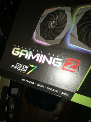 Building a little beast , more to come: GAMING  FROZR  THERMAL DESIGN  RAY TRACING GDDR6 DIRECTX 12 / ANSEL Building a little beast , more to come