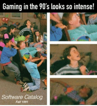 Fall, Insanity, and Gaming: Gaming in the 90's looks so intense!  Software Catalog  Fall 1991 Insanity 😂 https://t.co/qoXCxo41yz