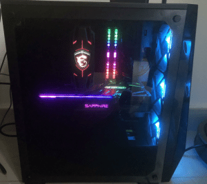 Thanks to this awesome community to help me build my first PC!: GAMINGSERIES  SAPPHIRE  CUDA Thanks to this awesome community to help me build my first PC!