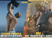 For honor for Valentine's Day: GAMOLIO  OGY  ME  OTHER PLE  ON VALENTINE'S DAYS ON VALENTINE'S DAYS For honor for Valentine's Day