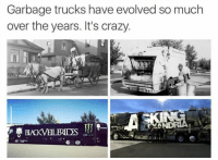 Prog Snob OC killing it...: Garbage trucks have evolved so much  over the years. It's crazy.  ANDRA Prog Snob OC killing it...