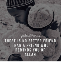 "Memes, The Prophet, and 🤖: gardenofthe pious  THERE IS NO BETTER FRIEND  THAN A FRIEND WHO  REMINDS YOU OF  ALLA H When we study the lives of the Sahaba (Radhiallahu Anhum), we find the deep-rooted love they felt for the Prophet ‎‎(Sallallahu Alaihi Wasallam)‎‬, a love that guided their every emotion, a love that has no equal and cannot be matched by any other human being, a love that reaches the concealed regions of the heart. - It was the Prophet ‎(Sallallahu Alaihi Wasallam)‎‬ who had the ability of saying a single phrase that conveyed profound meanings and beautiful lessons. What he stated in a single minute, another man could only express in a few hours, or a few days, this was the eloquence of the most beloved to Allah ‎ﷻ‬. - The companions loved him not just because of his noble character and impeccable manners. He won them over with the flawless way in which he dealt with them and with the abundant kindness that he continually graced them with. - They constantly felt spiritual joy and a strengthening of their faith whilst in his blessed company. Imagine the love they had for him after having spent years wandering in darkness, disbelief and ignorance. They tried their best to imitate his every action, and they obeyed his every command to a point where they were willing to use their bodies as human shields to protect the Prophet ‎‎(Sallallahu Alaihi Wasallam)‎‬, not just his life but his honor as well. - It was the Prophet ‎‎(Sallallahu Alaihi Wasallam)‎‬ who helped purify their souls from the sins of disbelief, and cleansed their hearts from the shame of worshipping others except Allah ‎ﷻ‬. He taught them how to lead a content life, and he filled their heart and soul with happiness after they had spent years feeling lost and depressed. Their hearts were once an empty land full of doubt and misguidance, but it was the Prophet ‎(Sallallahu Alaihi Wasallam)‎‬ who built in their hearts a fortress of Faith. - Abu Hurayrah narrated: The Prophet (Sallallahu Alaihi Wasallam) said: ""A man follows the religion of his friend; so each one should consider whom he makes his friend."" (Sunan Abi Dawud 4833, Graded as Hasan by Al-Albani)"