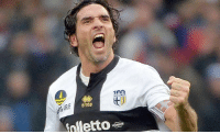 Club, Memes, and Back: GARE  errea  folletto Alessandro Lucarelli (Parma's captain)  2008: joined Parma   2015: Parma demoted to Serie D, he was the only player to stay and promised to stay until he leads the club to Serie A again.  2018: He kept his promise and led Parma back to Serie A. 🙌🏼 https://t.co/BwVzdK9Z43