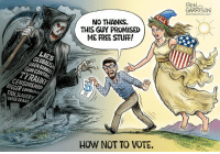 Control, Free, and Stuff: GARRISON  OGRRRGRAPHICS COM  NO THANKS  THIS GUY PROMISED  ME FREE STUFF!  Ty  LIES  GLOBALIS  OPEN BORDERS  GUN CONTROL  TYRANNY!  VOTE  CENSORSAIP  BIGGER GOVERNMET  TAXSLAVERY  VOTER FRAUD  HOW NOT TO VOTE.