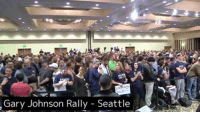 Gary Johnson Rally Seattle Gary Johnson live at a rally in Seattle.