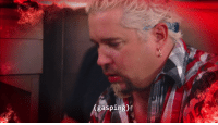 "Guy Fieri, Tumblr, and Blog: (gasping)' <p><a class=""tumblr_blog"" href=""http://whowasphoone.tumblr.com/post/117488359668"">whowasphoone</a>:</p><blockquote> <p><a class=""tumblr_blog"" href=""http://cashbrowns.tumblr.com/post/117454332404"">cashbrowns</a>:</p> <blockquote> <p>guy fieri goes to chicken wing hell</p> </blockquote> <p>guy fieri's health gets low in a first person shooter so he hides behind a fridge to regen for a bit</p> </blockquote>"
