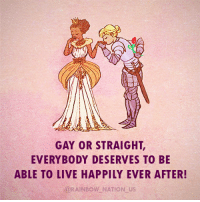 Lgbt, Memes, and Prince: GAY OR STRAIGHT  EVERYBODY DESERVES TO BE  ABLE TO LIVE HAPPILY EVER AFTER!  @RAINBOW NATION US Sometimes, your prince charming is a princess. And that's completely ok! LGBT LGBTUN rainbownation rainbow_nation_us lesbianperks LGBTPride LGBTSupport Homosexual GayPride Lesbian Gay Transgender Bisexual Pansexual GenderEquality Questioning Agender GenderQueer Intersex Asexual Androgyne GenderFluid LGBTQ LGBTCommunity LoveWins LoveIsLove