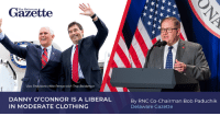 """The last thing Ohioans need is another lying politician in Washington, D.C."" Danny O'Connor will further the Democrat Party's radical left-wing agenda if sent to Washington!→ https://bit.ly/2v7L09B: Gazette  The Delaware  Vice  nt Mike Pence with Troy Balderson  DANNY O'CONNOR IS A LIBERAL  IN MODERATE CLOTHING  By RNC Co-Chairman Bob Paduchik  Delaware Gazette ""The last thing Ohioans need is another lying politician in Washington, D.C."" Danny O'Connor will further the Democrat Party's radical left-wing agenda if sent to Washington!→ https://bit.ly/2v7L09B"