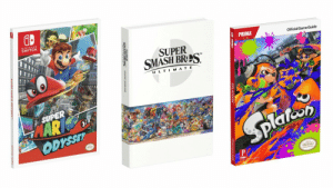 Nintendo, Smashing, and Game: Gb  NINTENDO  SWITCH  PRIMA  Official Game Guide  SUPER  SMASH BReS  TM  U L T IM A T E  0  SUPER 정  ODISSET