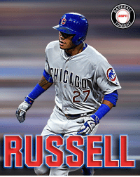 RT @BBTN: Addison Russell now has 5 HRs in his past 5 games.: GEB  ESrin  ONIG RT @BBTN: Addison Russell now has 5 HRs in his past 5 games.
