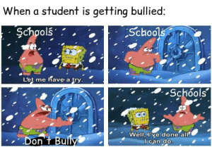 Gee, this will totally end bullying: Gee, this will totally end bullying