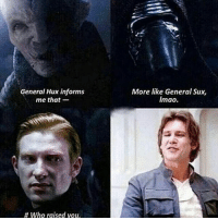 "Hux replies, ""Be quite Cry-lo Ren."" Then Snoke intervenes and says, ""Kids! No fighting!"" DarthBaker ⬛ ⬛ 3rd pic via: @jediobiwankenobi (where did he go again!? 😩) 7th pic via: @StarWarsPassions ⬛ ⬛ Tags,(ignore) Starwars rogueone stormtrooper picture deathtrooper Darthvader hansolo leiaorgana lukeskywalker film movie jedi sith theforce thelightside thedarkside meme geek nerd finn rey kyloren theforceawakens hype film moive gaming battlefront art obiwankenobie: General Hux informs  me that-  More like General Sux,  Imao.  # who raised you. Hux replies, ""Be quite Cry-lo Ren."" Then Snoke intervenes and says, ""Kids! No fighting!"" DarthBaker ⬛ ⬛ 3rd pic via: @jediobiwankenobi (where did he go again!? 😩) 7th pic via: @StarWarsPassions ⬛ ⬛ Tags,(ignore) Starwars rogueone stormtrooper picture deathtrooper Darthvader hansolo leiaorgana lukeskywalker film movie jedi sith theforce thelightside thedarkside meme geek nerd finn rey kyloren theforceawakens hype film moive gaming battlefront art obiwankenobie"