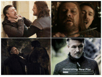 Memes, Jon Snow, and Snow: Generating New Plot.. Be safe, Jon Snow. Littlefinger can't be trusted. #GameOfThrones https://t.co/6FUgEsieh4