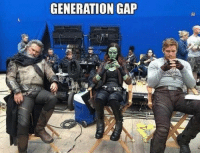 One of these things is not like the other...: GENERATION GAP One of these things is not like the other...
