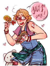 ask-art-student-prussia:  geniusartstuff: happy canada day!! i love being canadian lmao art in art tag  because someone asked: geniusartstuff ask-art-student-prussia:  geniusartstuff: happy canada day!! i love being canadian lmao art in art tag  because someone asked