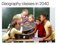 Memes, 🤖, and Geography: Geography classes in 2040 Stay woke