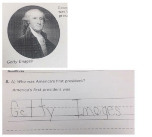 Tumblr, American, and Blog: Geor  was  presi  Getty Images  dWorks  5. A) Who was America's first president?  America's first president was memehumor:  What's the name of First American president?
