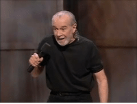 """George Carlin, Memes, and Death: George Carlin with some rather novel ideas on the death penalty. (In this 1996 clip, he mentions """"The 1%"""" long before anybody else ran with it!)"""