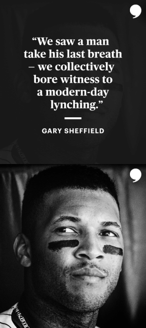 George Floyd's senseless murder has become one of the most defining moments in America's history.  Read @garysheffield's story: https://t.co/tTCtls0zds https://t.co/vLb2on71pA: George Floyd's senseless murder has become one of the most defining moments in America's history.  Read @garysheffield's story: https://t.co/tTCtls0zds https://t.co/vLb2on71pA