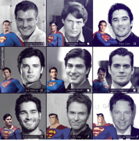 Which one is your fav? ~GwenMJ: George Reeves  Tom Welling  Tyler Hoechlin  di  Christopher Reeve SR.  Brandon Routh  SR.  Tim Daly  Dean Cain  Henry Cav  George Newbern Which one is your fav? ~GwenMJ
