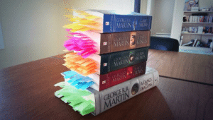audreyii-fic:  ezekielismycopilot:   George R.R. Martin is ruthless - every death in the Game of Thrones series is tabbed  im not even in the GOT fandom but how the fuck are any of you still breathing  I find that if you begin by assuming every single person you meet will die gruesomely within the next five pages then the entire story is really quite a pleasant surprise : GEORGE RR  MARTIN  GAME  THRONES  GEORGERR  MARTIN  KINGS  GEORGE RR STORM  MARTIN  SCNKOVALS  GEORGERR HEAST  CROWS  MARTIN  GEORGERR  MARTIN DRAGONS  A DANCE audreyii-fic:  ezekielismycopilot:   George R.R. Martin is ruthless - every death in the Game of Thrones series is tabbed  im not even in the GOT fandom but how the fuck are any of you still breathing  I find that if you begin by assuming every single person you meet will die gruesomely within the next five pages then the entire story is really quite a pleasant surprise