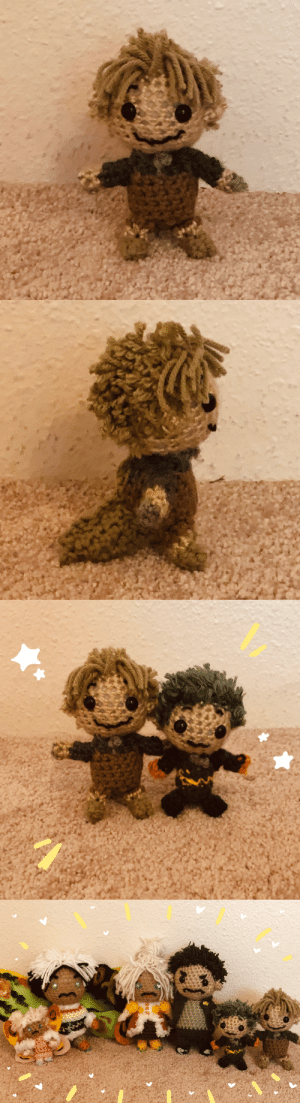 georgetheblob-art:  finally sat down and finished up everyone's favorite little potato (or at the very least…my favorite little potato), Minilla!!! 🥔💕now I have the whole family!! and they all look extremely silly!!!: georgetheblob-art:  finally sat down and finished up everyone's favorite little potato (or at the very least…my favorite little potato), Minilla!!! 🥔💕now I have the whole family!! and they all look extremely silly!!!
