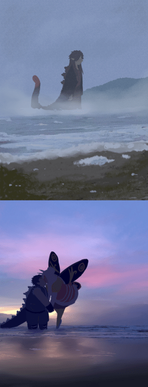 georgetheblob-art:  I could do atmospheric beach art forever, man: georgetheblob-art:  I could do atmospheric beach art forever, man