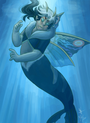 georgetheblob-art:  it's Mermay….here's Leo's swimming form (Aqua Mothra) from the second Rebirth film that I am in continuous disbelief is reallook at him: georgetheblob-art:  it's Mermay….here's Leo's swimming form (Aqua Mothra) from the second Rebirth film that I am in continuous disbelief is reallook at him