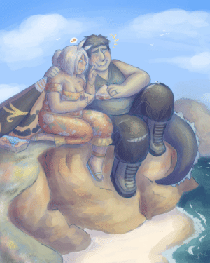 georgetheblob-art: they're, y'know, they're hangin out 💕 (please don't ask me how they got ingredients to make sandwiches that size I just wanted to draw a cute picnic date) I love them and I love to draw them happy :,) : georgetheblob-art: they're, y'know, they're hangin out 💕 (please don't ask me how they got ingredients to make sandwiches that size I just wanted to draw a cute picnic date) I love them and I love to draw them happy :,)