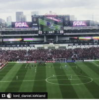 A new team @mls, Lord Daniel's team (any relation to Lord Bendtner?!) sit top of Eastern Conference after 3 games. Team on 🔥. Stadium👌. Thanks for sharing your MyFootballPhoto. Repost @lord_daniel.kirkland ・・・ Great win from @atlutd this afternoon. True quality myfootballphoto: GEORGIA TEGI  GOAL  WELCOME TO BOBBY DOOD STADIUM  ATLANTA  u lord daniel kirkland  GOAL.  AT HISTORIC GRAN f FIELD A new team @mls, Lord Daniel's team (any relation to Lord Bendtner?!) sit top of Eastern Conference after 3 games. Team on 🔥. Stadium👌. Thanks for sharing your MyFootballPhoto. Repost @lord_daniel.kirkland ・・・ Great win from @atlutd this afternoon. True quality myfootballphoto