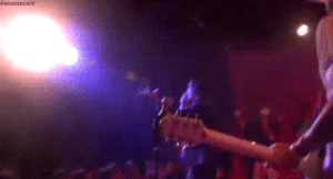 Tumblr, Blog, and Http: gerardss: Frank spitting his water onto Gerard on stage
