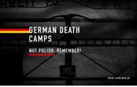 """Memes, Prison, and Auschwitz: GERMAN DEATH  CAMPS  NOT POLISH. REMEMBER!  www.redisbad.pl #GermanDeathCamps  German public television station ZDF called the German concentration camps at Auschwitz and Majdanek as """"Polish death camps"""". For this action ZDF was sued by former Auschwitz prisoner Karol Tender and lost that case in court. The court ordered ZDF to publish an apology on their main page and to leave it visible for 30 days.  For some reason ZDF published them very discreetly, at the very bottom of their website in the box Dock / Wissen with the title """"Karol Tenders Apology."""" Only when you click on that title, you can see the content of the apology. It is also published as a picture so it does not appear in google search.  For this reason we have decided that we should show ZDF what we think about their action.  http://www.zelaznalogika.net/germandeathcamps-germannotnazi-germannotpolish/"""