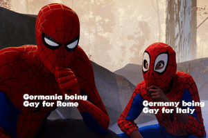 aph-grandpa:  I'm not wrongHoly shit.: Germania being  Gay for Rome  Germany bein  Gay for Italy aph-grandpa:  I'm not wrongHoly shit.